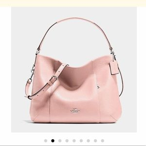 Coach Isabelle Pebbled Crossbody Leather Hobo Bag